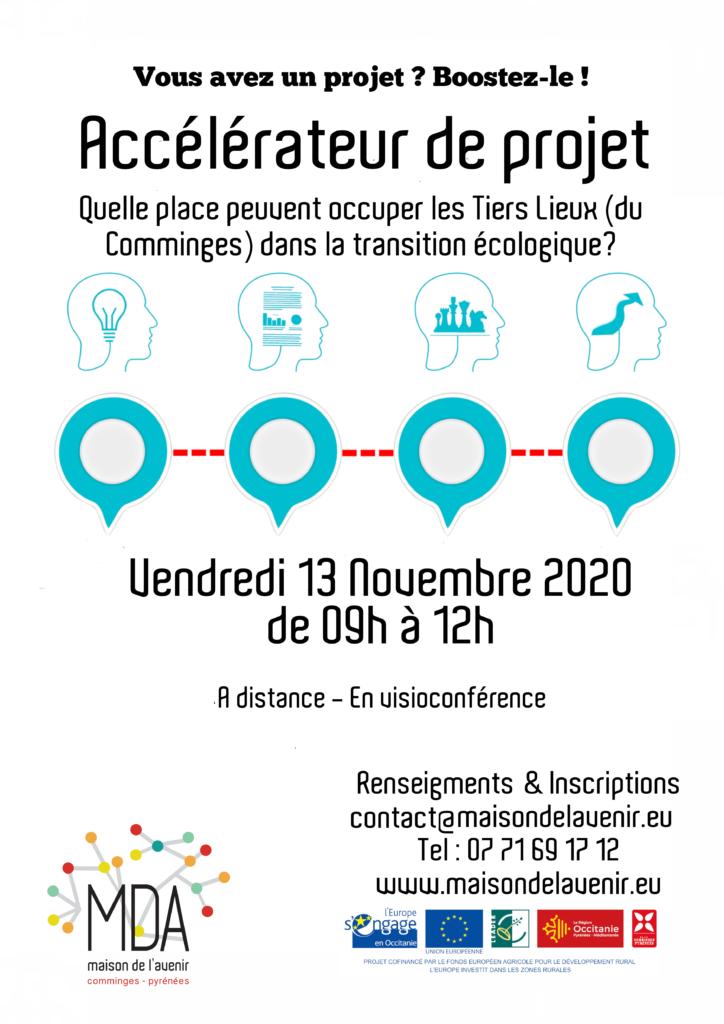 Affiche accélérateur de projet 13 novembre