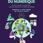 Affiche Webinair impact écologique numérique