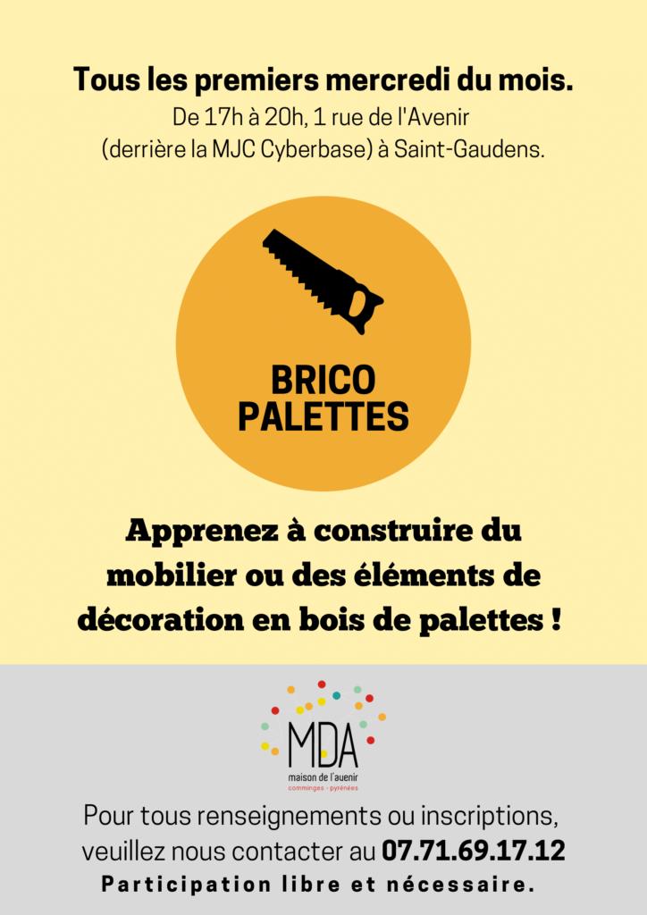 Flyer Brico Palettes
